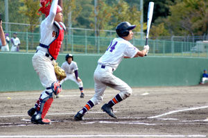 いわき民報社黒獅子旗争奪市中学校新人野球